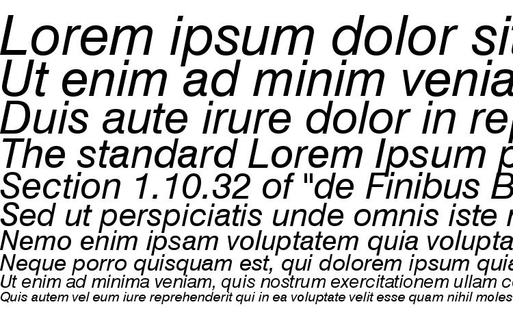 specimens Swiss 721 Italic Win95BT font, sample Swiss 721 Italic Win95BT font, an example of writing Swiss 721 Italic Win95BT font, review Swiss 721 Italic Win95BT font, preview Swiss 721 Italic Win95BT font, Swiss 721 Italic Win95BT font