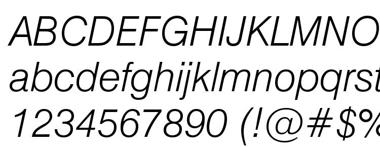 glyphs Swiss 721 Light Italic BT font, сharacters Swiss 721 Light Italic BT font, symbols Swiss 721 Light Italic BT font, character map Swiss 721 Light Italic BT font, preview Swiss 721 Light Italic BT font, abc Swiss 721 Light Italic BT font, Swiss 721 Light Italic BT font