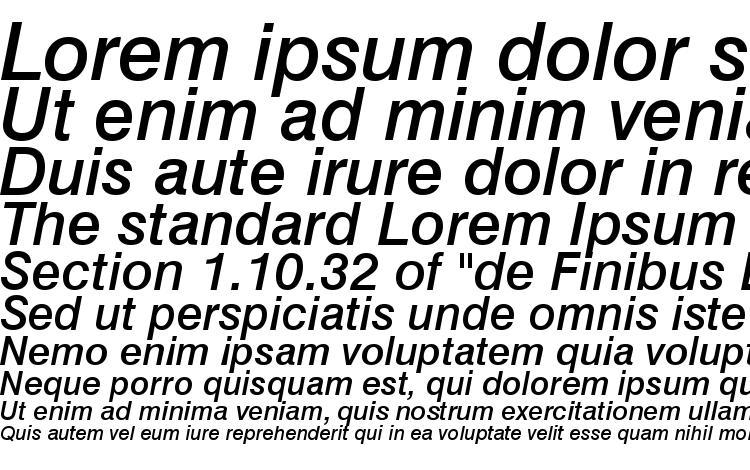 specimens Swiss 721 Medium Italic BT font, sample Swiss 721 Medium Italic BT font, an example of writing Swiss 721 Medium Italic BT font, review Swiss 721 Medium Italic BT font, preview Swiss 721 Medium Italic BT font, Swiss 721 Medium Italic BT font
