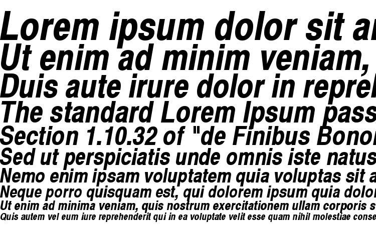 specimens Swiss 721 Narrow Bold Oblique SWA font, sample Swiss 721 Narrow Bold Oblique SWA font, an example of writing Swiss 721 Narrow Bold Oblique SWA font, review Swiss 721 Narrow Bold Oblique SWA font, preview Swiss 721 Narrow Bold Oblique SWA font, Swiss 721 Narrow Bold Oblique SWA font
