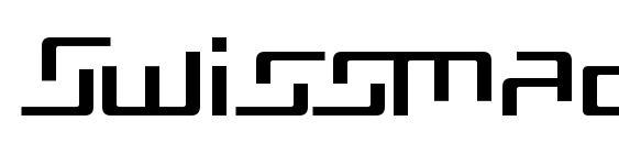 Шрифт Swissmad