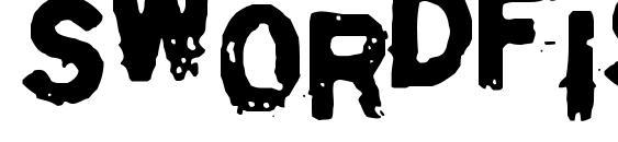 Шрифт Swordfish