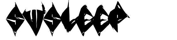 SWSleep Font