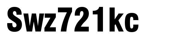 Swz721kc font, free Swz721kc font, preview Swz721kc font