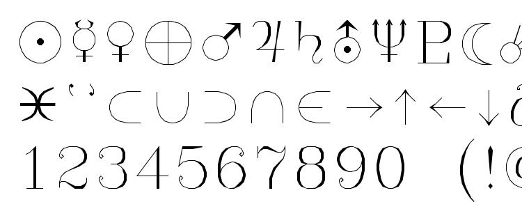 glyphs Syastro font, сharacters Syastro font, symbols Syastro font, character map Syastro font, preview Syastro font, abc Syastro font, Syastro font