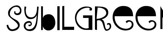 SybilGreen Regular Font