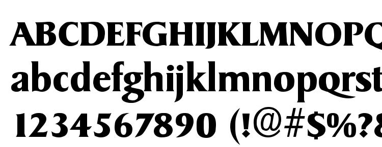 glyphs Sydney Bold font, сharacters Sydney Bold font, symbols Sydney Bold font, character map Sydney Bold font, preview Sydney Bold font, abc Sydney Bold font, Sydney Bold font
