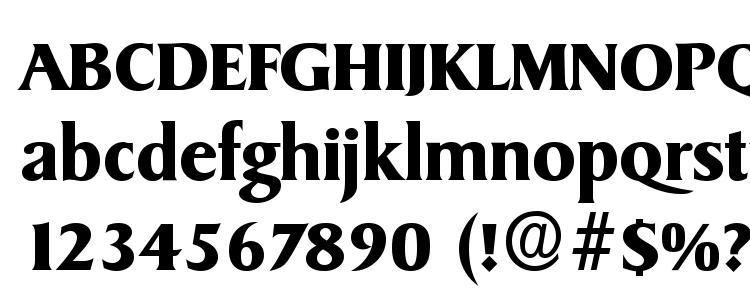 глифы шрифта SydneySerial Bold, символы шрифта SydneySerial Bold, символьная карта шрифта SydneySerial Bold, предварительный просмотр шрифта SydneySerial Bold, алфавит шрифта SydneySerial Bold, шрифт SydneySerial Bold