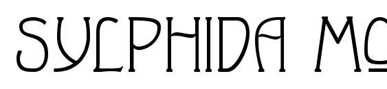 Шрифт Sylphida Modern Normal