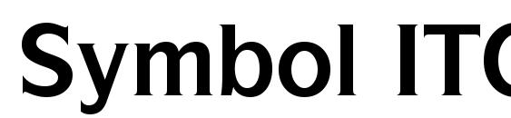 Шрифт Symbol ITC Bold BT