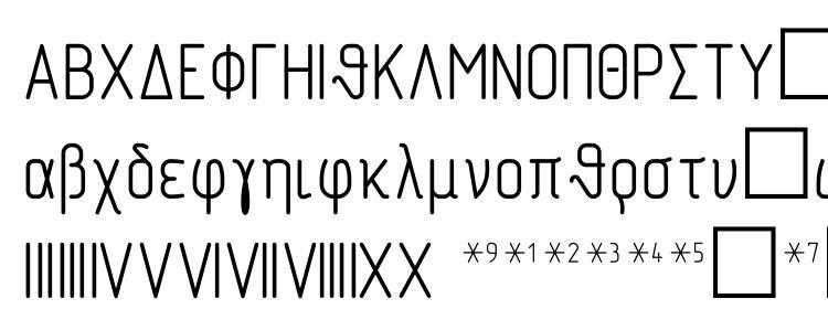 глифы шрифта Symbol type A, символы шрифта Symbol type A, символьная карта шрифта Symbol type A, предварительный просмотр шрифта Symbol type A, алфавит шрифта Symbol type A, шрифт Symbol type A