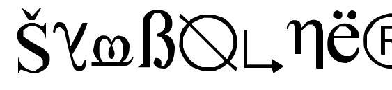 Шрифт SymbolNerve