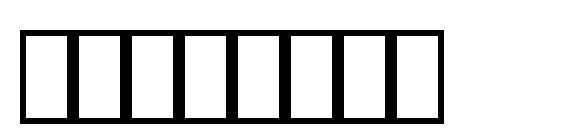 Шрифт SymbolPS