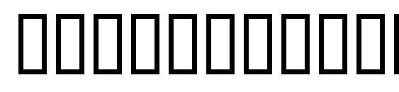 SYMBOLS regular Font