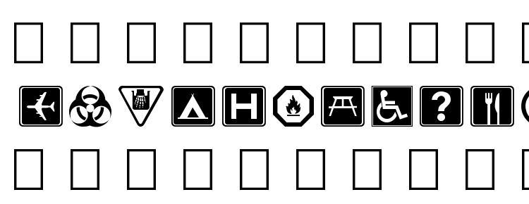 глифы шрифта Symbolx, символы шрифта Symbolx, символьная карта шрифта Symbolx, предварительный просмотр шрифта Symbolx, алфавит шрифта Symbolx, шрифт Symbolx