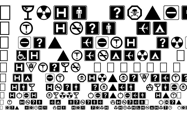 specimens Symbolx font, sample Symbolx font, an example of writing Symbolx font, review Symbolx font, preview Symbolx font, Symbolx font