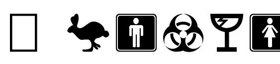 шрифт Symbolx, бесплатный шрифт Symbolx, предварительный просмотр шрифта Symbolx