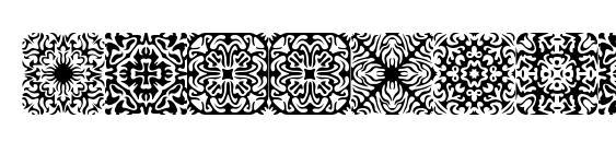 Шрифт Symmetry brk