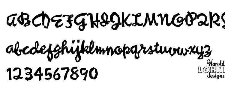 глифы шрифта Syncopated script trial, символы шрифта Syncopated script trial, символьная карта шрифта Syncopated script trial, предварительный просмотр шрифта Syncopated script trial, алфавит шрифта Syncopated script trial, шрифт Syncopated script trial
