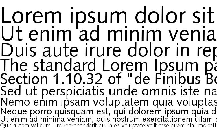 specimens Syntax LT font, sample Syntax LT font, an example of writing Syntax LT font, review Syntax LT font, preview Syntax LT font, Syntax LT font
