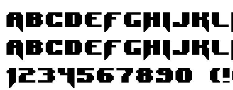 глифы шрифта Syntax terror, символы шрифта Syntax terror, символьная карта шрифта Syntax terror, предварительный просмотр шрифта Syntax terror, алфавит шрифта Syntax terror, шрифт Syntax terror