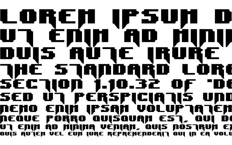 specimens Syntax terror font, sample Syntax terror font, an example of writing Syntax terror font, review Syntax terror font, preview Syntax terror font, Syntax terror font