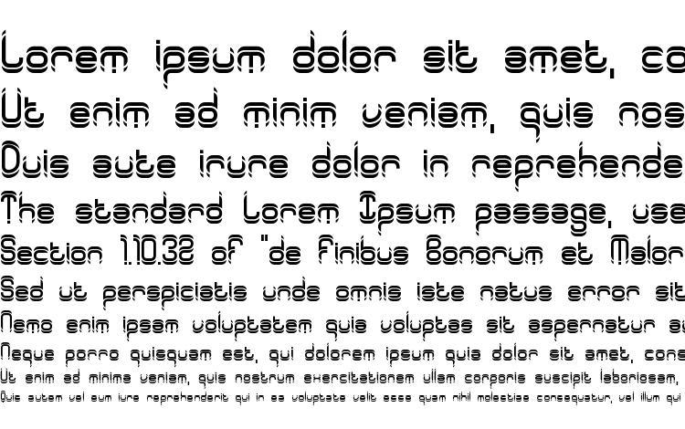 образцы шрифта Synthetic BRK, образец шрифта Synthetic BRK, пример написания шрифта Synthetic BRK, просмотр шрифта Synthetic BRK, предосмотр шрифта Synthetic BRK, шрифт Synthetic BRK