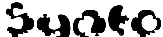 шрифт Syntosis, бесплатный шрифт Syntosis, предварительный просмотр шрифта Syntosis