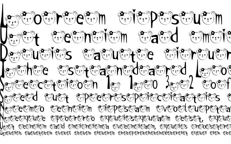 specimens T kuma2 font font, sample T kuma2 font font, an example of writing T kuma2 font font, review T kuma2 font font, preview T kuma2 font font, T kuma2 font font
