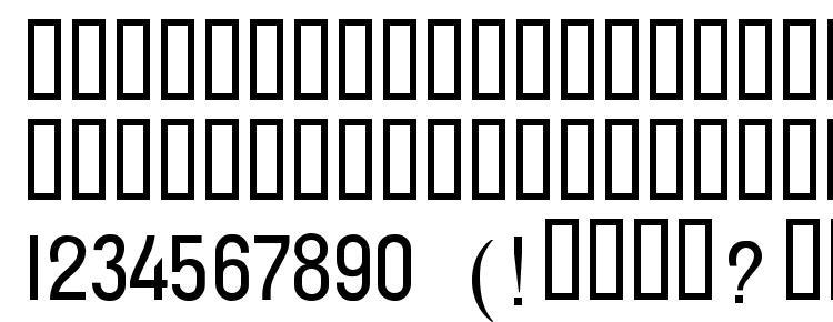 глифы шрифта t132w A, символы шрифта t132w A, символьная карта шрифта t132w A, предварительный просмотр шрифта t132w A, алфавит шрифта t132w A, шрифт t132w A