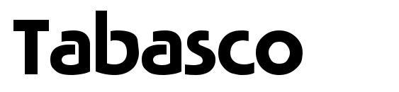 Шрифт Tabasco