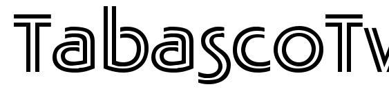 TabascoTwin DB Font