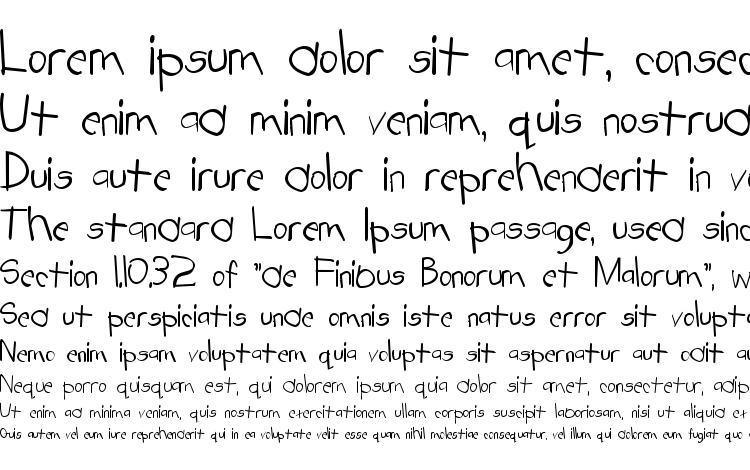 specimens Tabatha Normal font, sample Tabatha Normal font, an example of writing Tabatha Normal font, review Tabatha Normal font, preview Tabatha Normal font, Tabatha Normal font