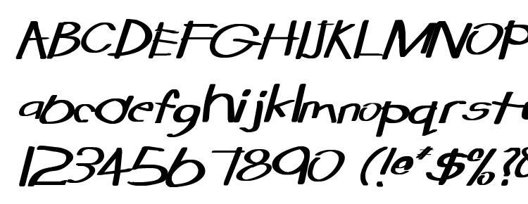 глифы шрифта Tabatha Wd Bold Italic, символы шрифта Tabatha Wd Bold Italic, символьная карта шрифта Tabatha Wd Bold Italic, предварительный просмотр шрифта Tabatha Wd Bold Italic, алфавит шрифта Tabatha Wd Bold Italic, шрифт Tabatha Wd Bold Italic