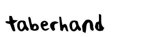 taberhand Font