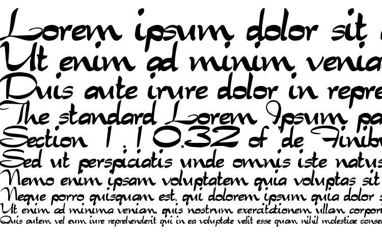 specimens Tabitha regular font, sample Tabitha regular font, an example of writing Tabitha regular font, review Tabitha regular font, preview Tabitha regular font, Tabitha regular font