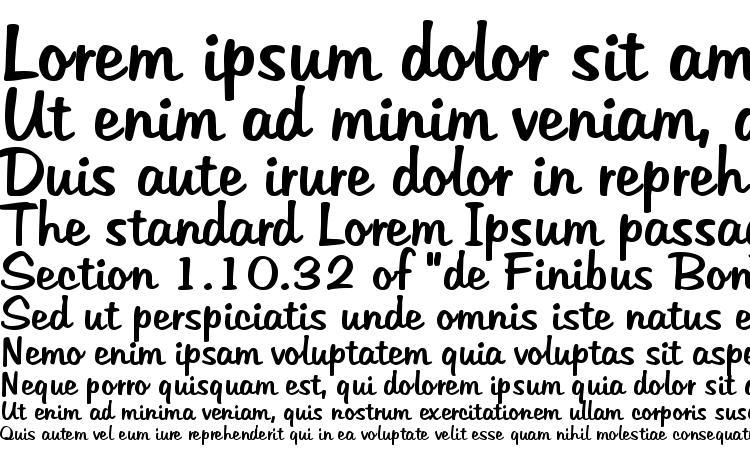 specimens Tabitha font, sample Tabitha font, an example of writing Tabitha font, review Tabitha font, preview Tabitha font, Tabitha font