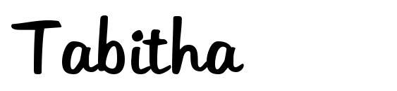 Шрифт Tabitha