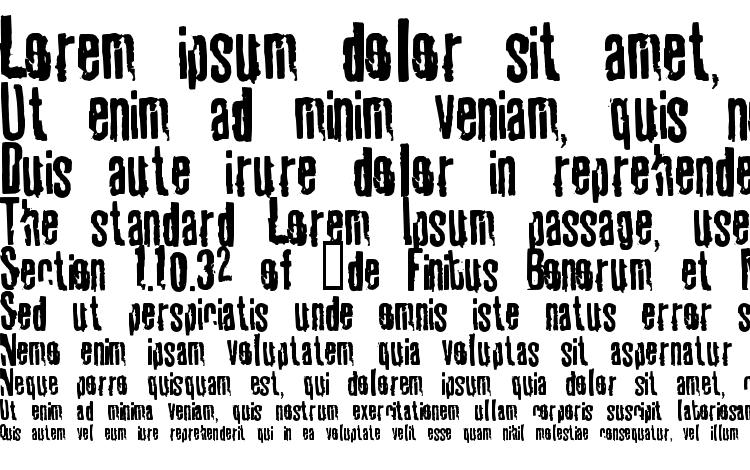 specimens Tablhoid font, sample Tablhoid font, an example of writing Tablhoid font, review Tablhoid font, preview Tablhoid font, Tablhoid font