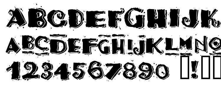 глифы шрифта Taco Modern, символы шрифта Taco Modern, символьная карта шрифта Taco Modern, предварительный просмотр шрифта Taco Modern, алфавит шрифта Taco Modern, шрифт Taco Modern