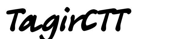 Шрифт TagirCTT
