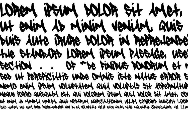 specimens Tagster font, sample Tagster font, an example of writing Tagster font, review Tagster font, preview Tagster font, Tagster font