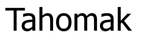 Tahomak Font