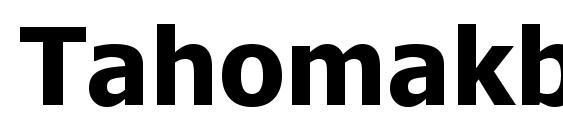 Tahomakb Font
