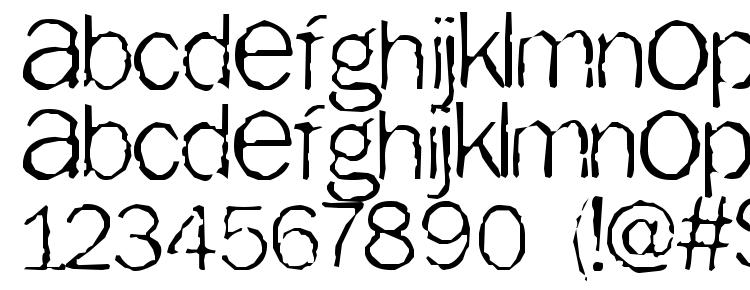glyphs Tainted font, сharacters Tainted font, symbols Tainted font, character map Tainted font, preview Tainted font, abc Tainted font, Tainted font