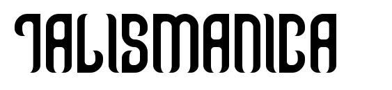 шрифт Talismanica, бесплатный шрифт Talismanica, предварительный просмотр шрифта Talismanica