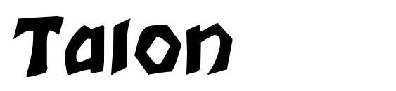 Talon Font