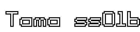 Tama ss01b Font