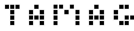 Tamagotchi Font