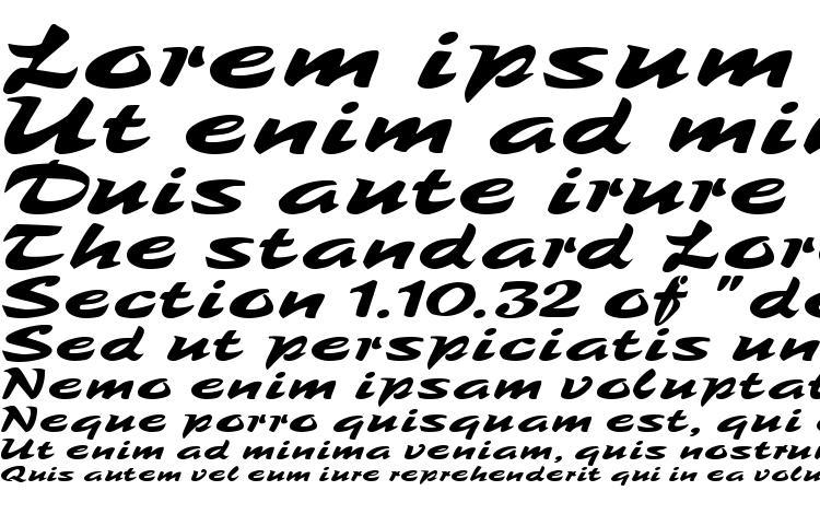 specimens Tambo Script MF font, sample Tambo Script MF font, an example of writing Tambo Script MF font, review Tambo Script MF font, preview Tambo Script MF font, Tambo Script MF font